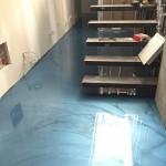 Revêtement plancher | Époxy métallique