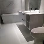Revêtement béton | plancher Époxy | Salle de bain